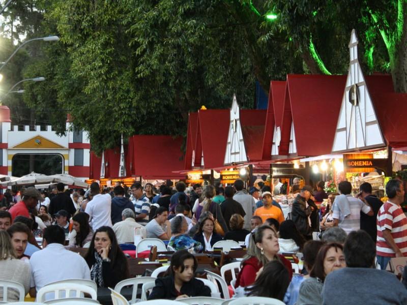 Bauernfest em Petrópolis