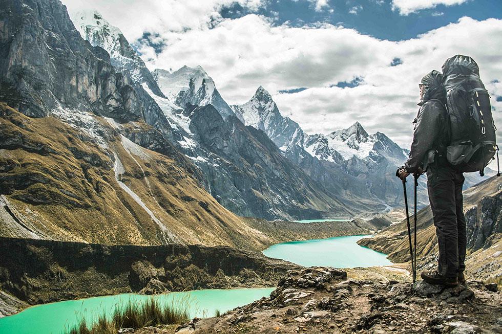 Cordilheira Huayhuash. Foto de Marcos Terra, eleita a melhor no Desafio Expedição na Montanha.
