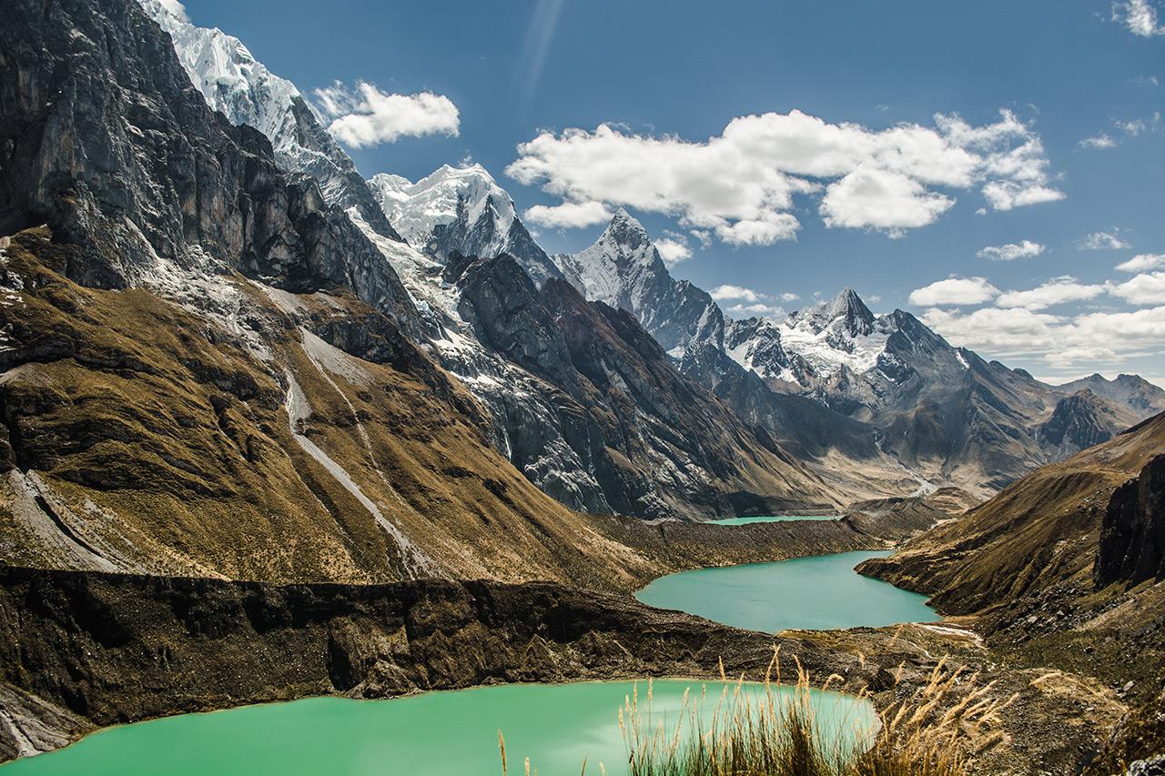 Mirador Siula Grande e a incrível formação da cordilheira Huayhuash.